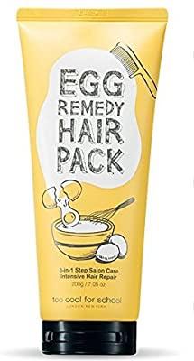 TooCoolForSchool Egg Remedy Hair Pack