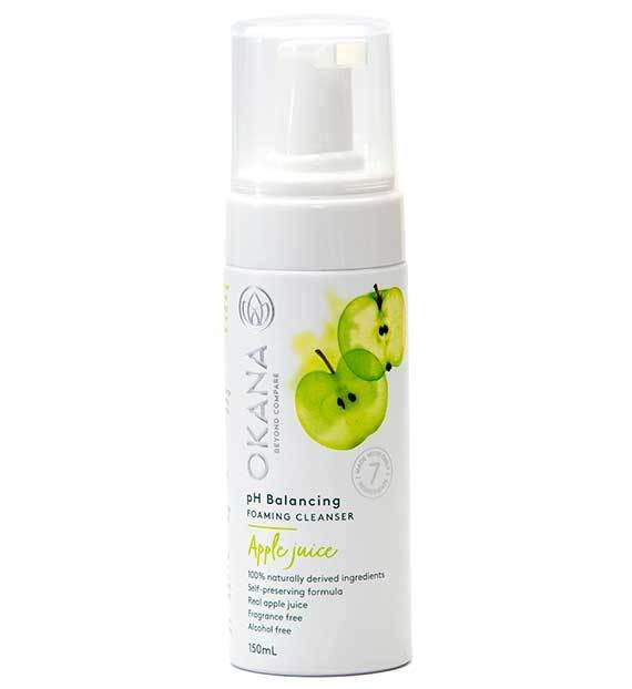 okana Apple Juice Foaming Cleanser