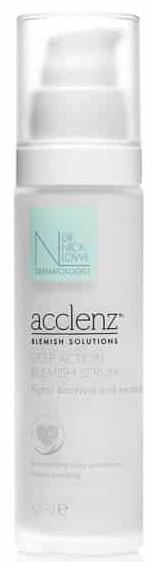 Dr Nick Lowe Acclenz Deep Action Blemish Serum
