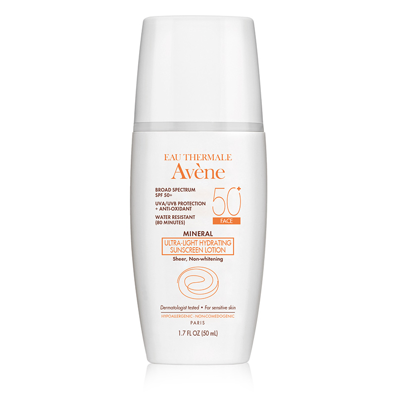 Avene Ultra-Light Mineral Lotion Spf 50+ (Face)