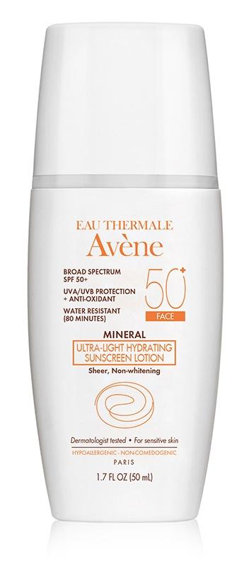 Avene Ultra-Light Mineral Lotion Spf 50+ (Face)