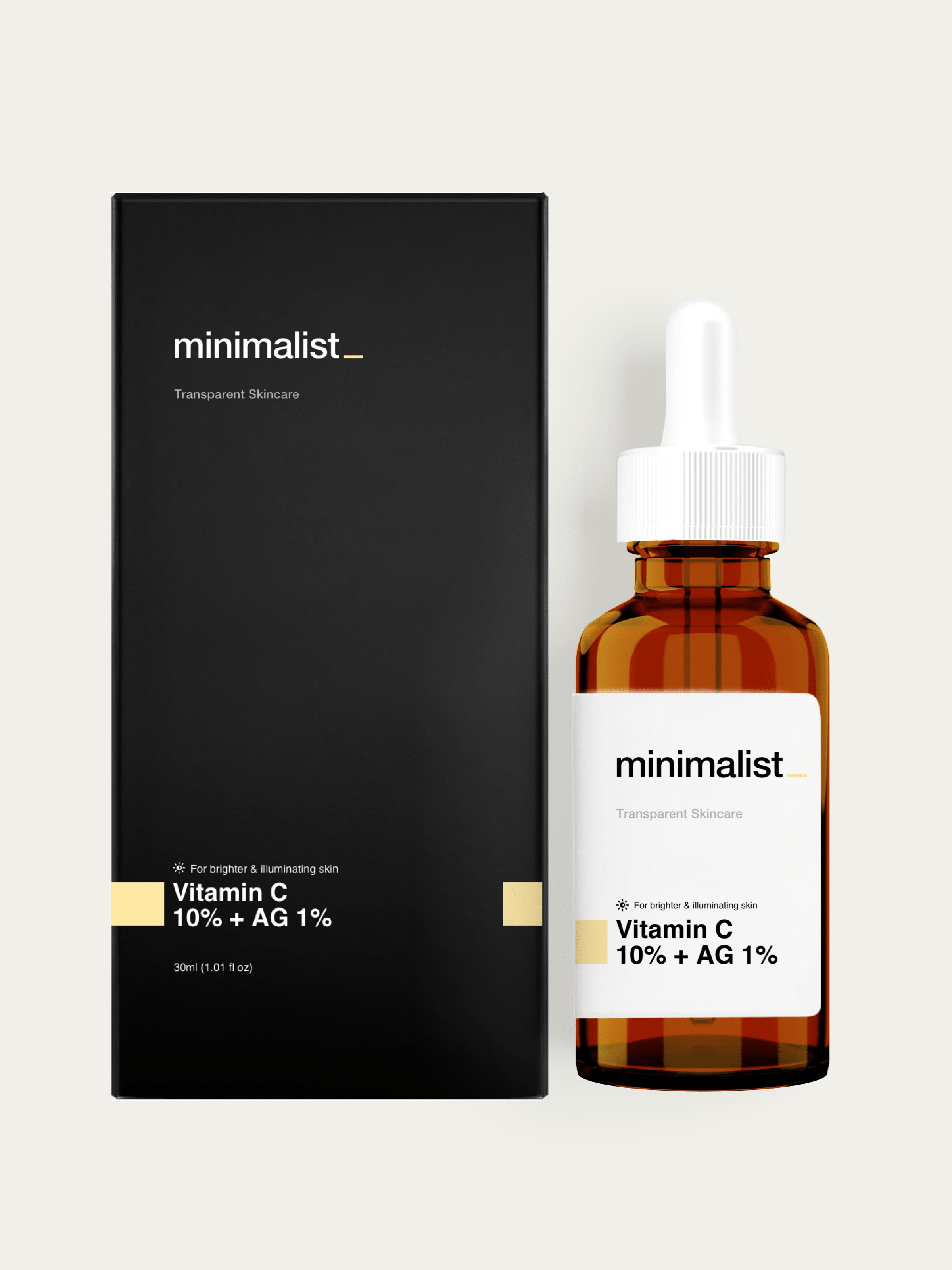 Be Minimalist Vitamin C (Ethyl Ascorbic Acid) 10% + Acetyl Glucosamine 1%