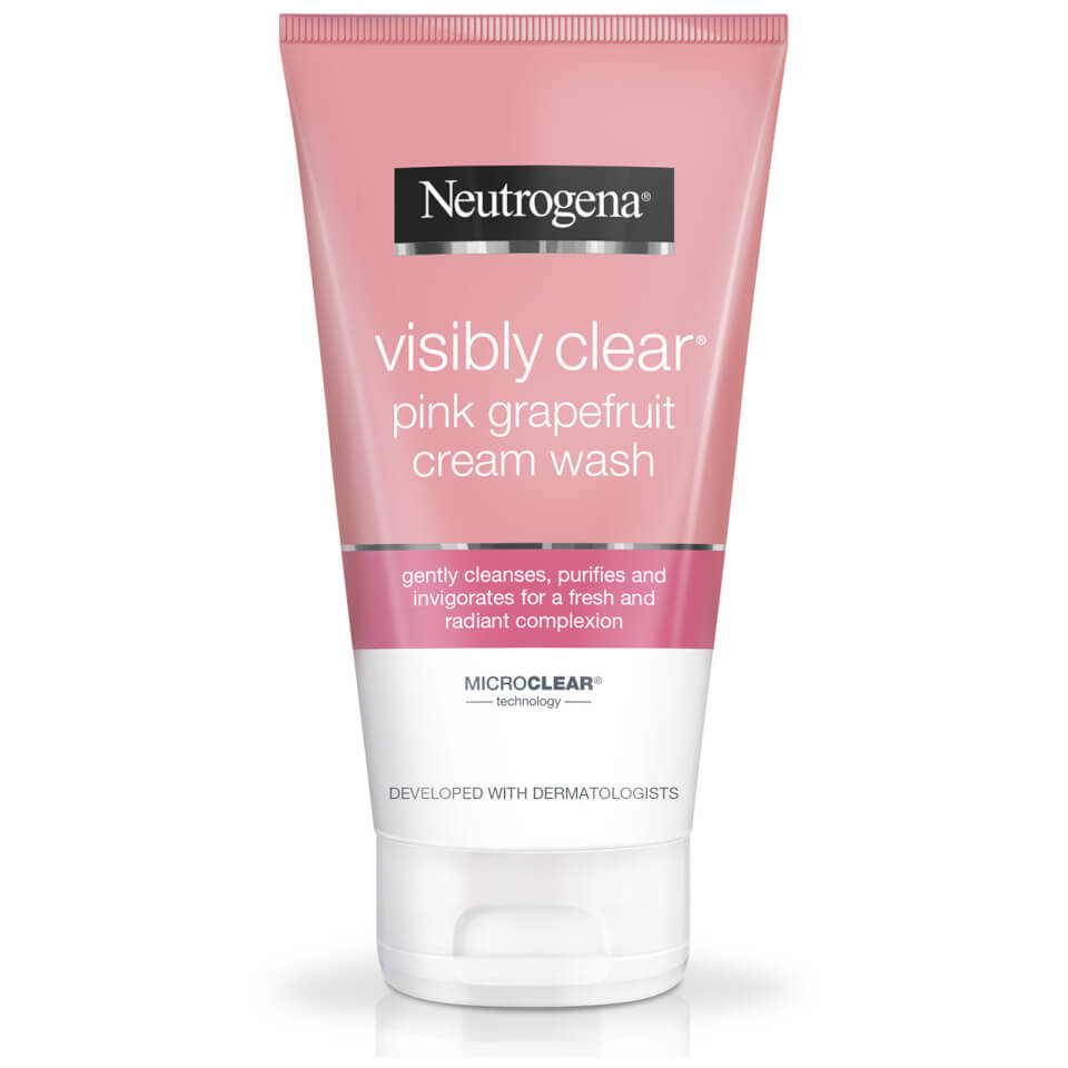 Neutrogena Visibly Clear Pink Grapefruit Cream Wash