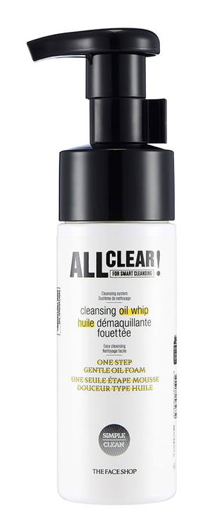 The Face Shop All Clear Cleansing Oil Whip