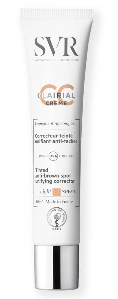 SVR Laboratoires Clairial Cc Crème Sun Protection – Light Spf 50+