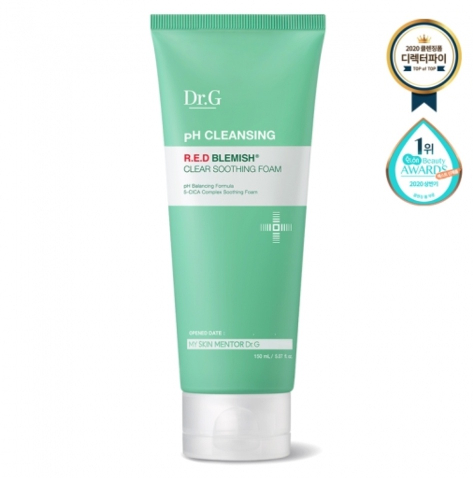 Dr. G pH Cleansing R.E.D Blemish Clear Soothing Foam