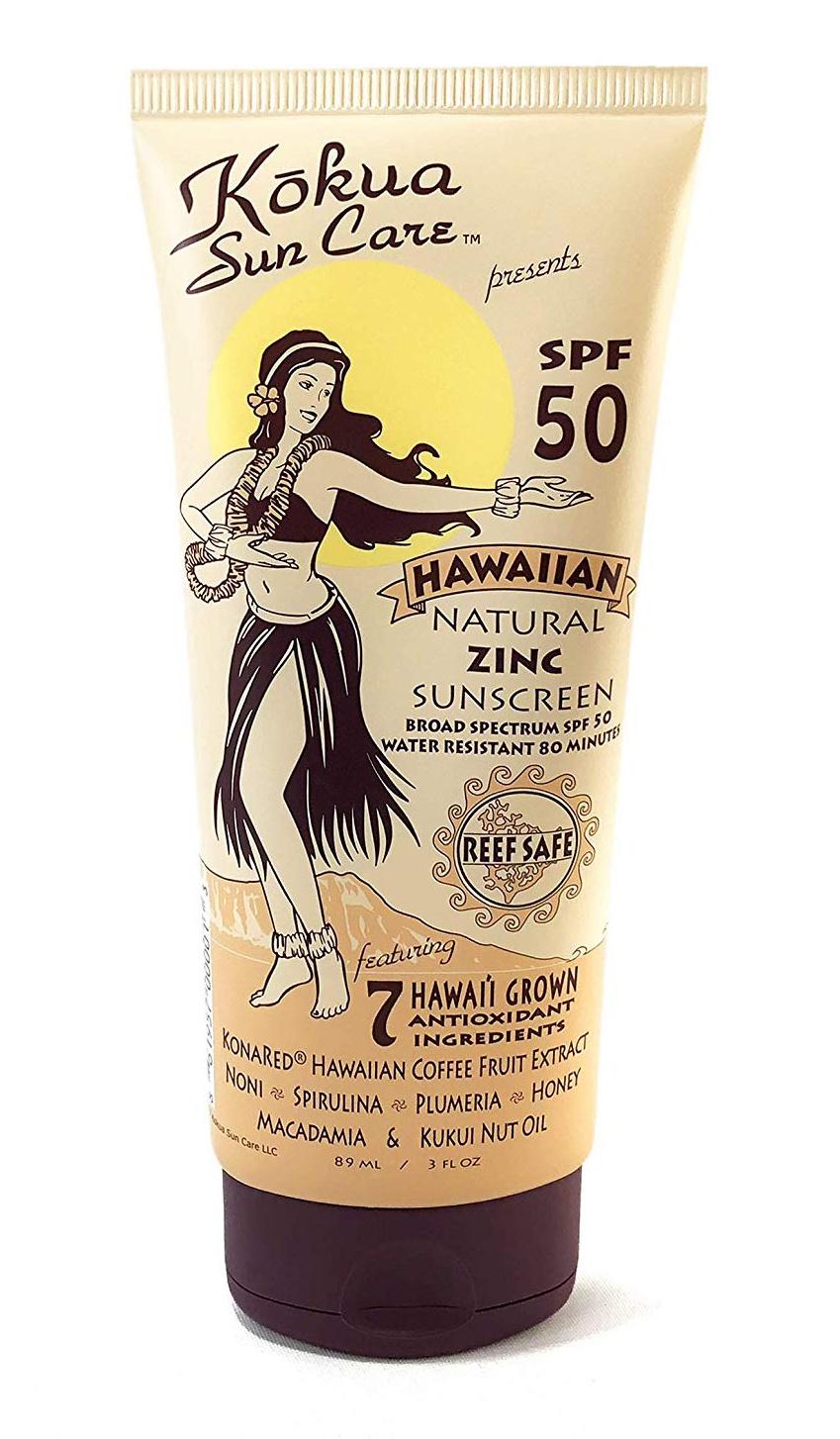 Kokua Sun Care Hawaiian Natural Zinc Sunscreen