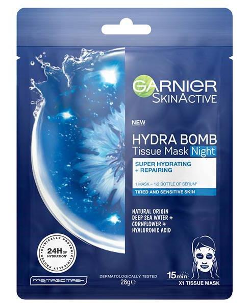 Garnier Hydra Bomb Sheet Mask Night