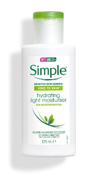 Simple Kind to Skin Hydrating Light Moisturiser (Asia)