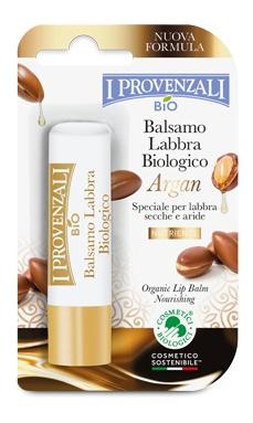 I Provenzali Balsamo Labbra Biologico Argan