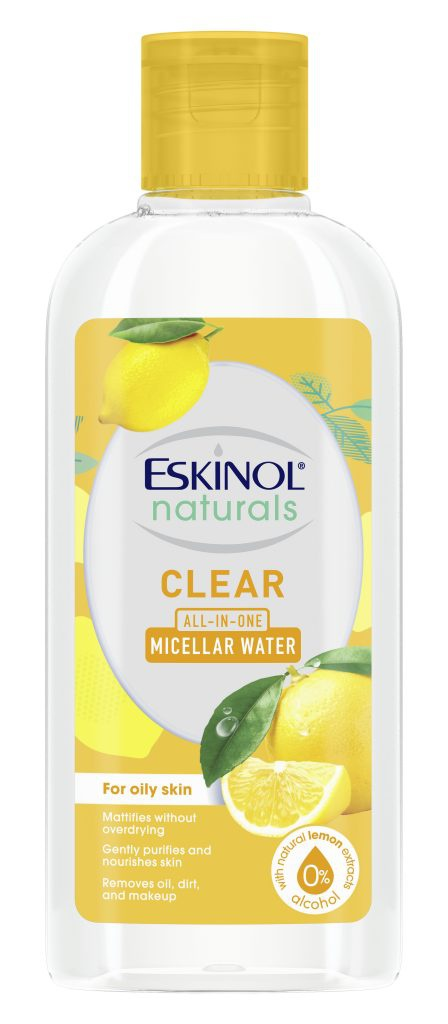 Eskinol Naturals Micellar Water Natural Lemon Extract