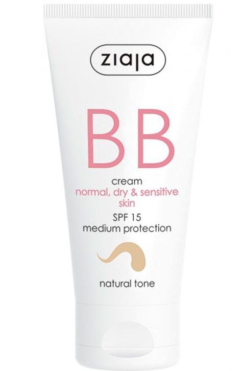 Ziaja BB Cream Normal, Dry & Sensitive Skin