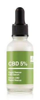Dr Botanicals CBD 5% Rapid Rescue Face Serum
