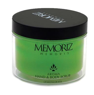 Memoriz Aroma Hand & Body Scrub Lemongrass