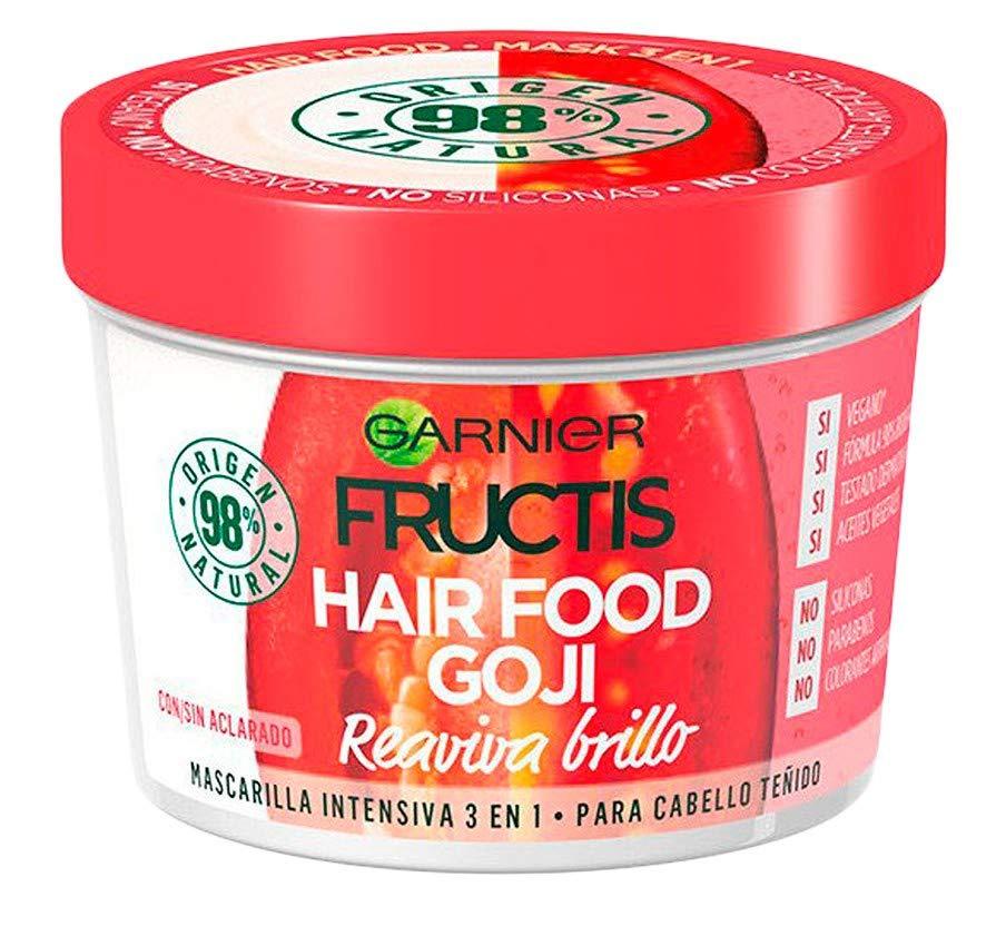 Garnier Mascarilla Hair Food 3 en 1 Goji Reaviva Brillo