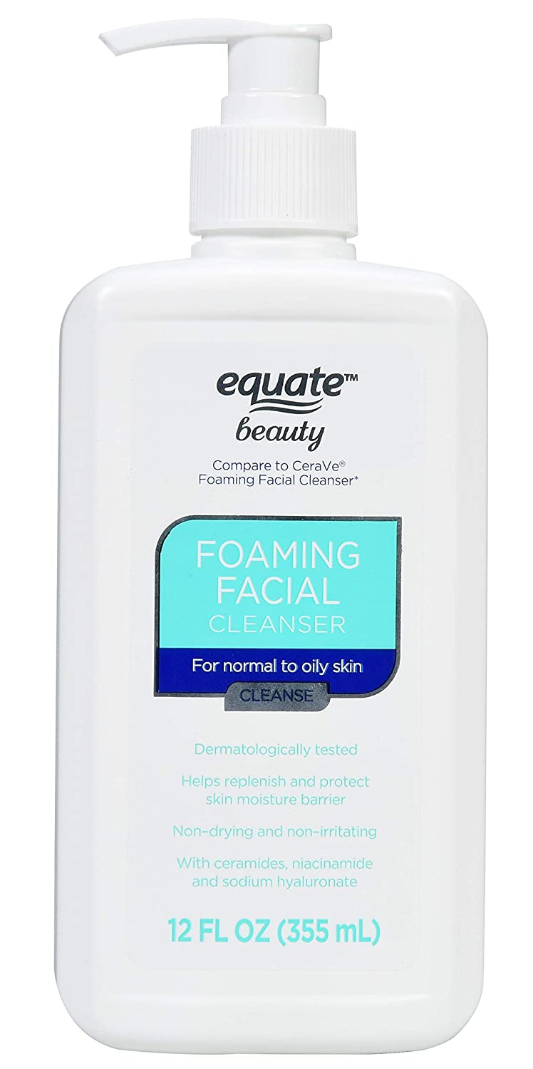 Equate Foaming Facial Cleanser