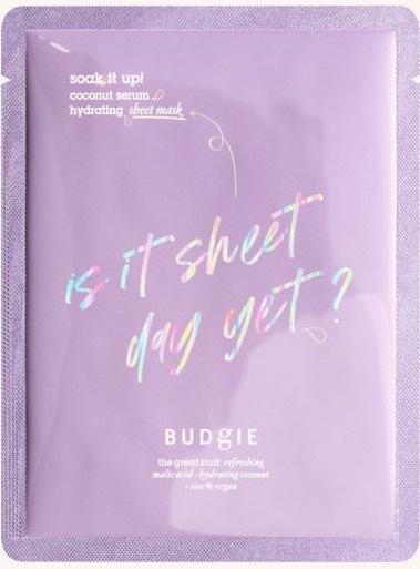 Budgie Soak It Up! Sheet Mask