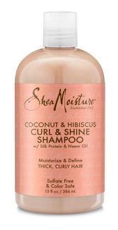 SheaMoisture Coconut And Hibiscus Curl And Shine Shampoo