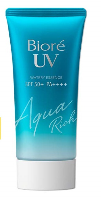 Biore UV Aqua Rich Watery Essence Spf50+ Pa++++ (2019 formula)