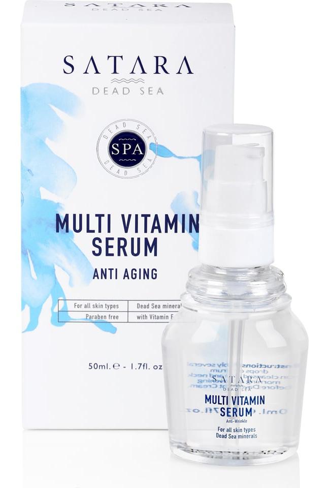 Satara Dead Sea Multi Vitamine Serum Anti Wrinkle