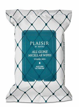 Plaisir by Matas All Gone Micellar Wipes