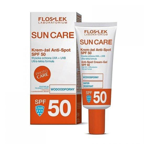 Floslek Laboratorium Sun Care, Cream-Gel Anti-Spot, Spf 50