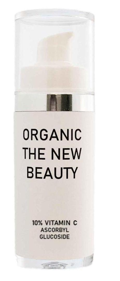 ORGANIC THE NEW BEAUTY 10% Vitamin C Probiotic Face Serum