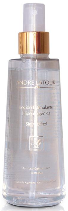 André Latour Locion Estimulante Hipoalergénica Sin Alcohol