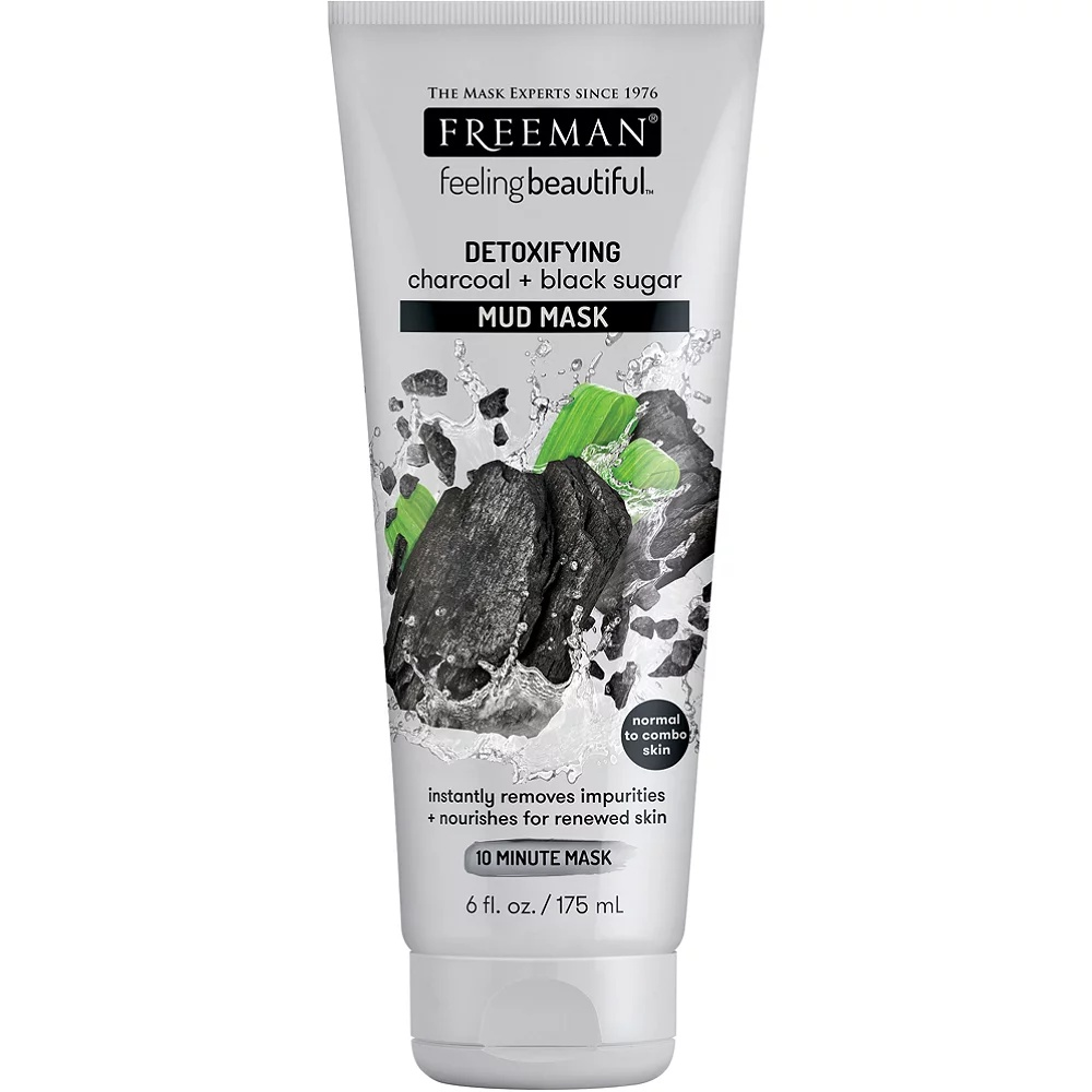 Freeman Charcoal And Black Sugar Mud Mask