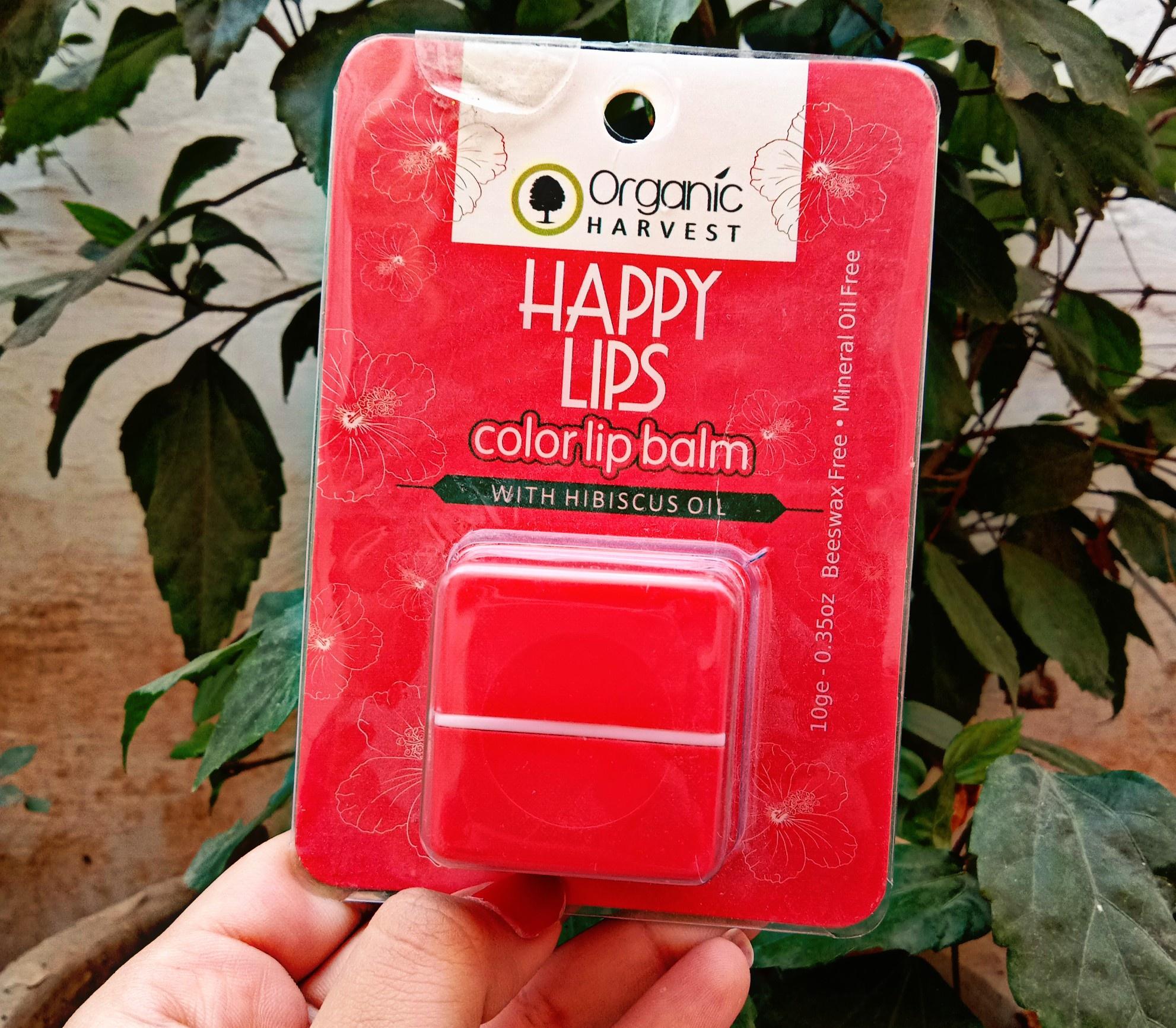 Organic Harvest Happy Lips Colour Lip Balm