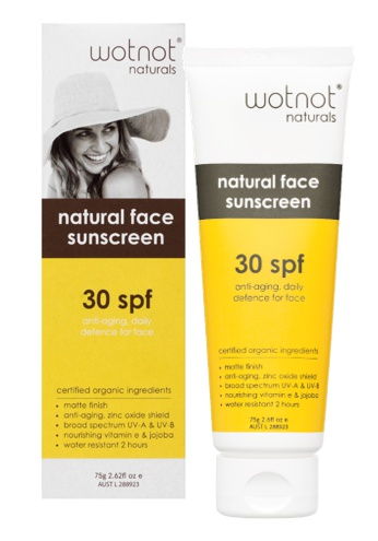 wotnot Natural Face Sunscreen Spf 30
