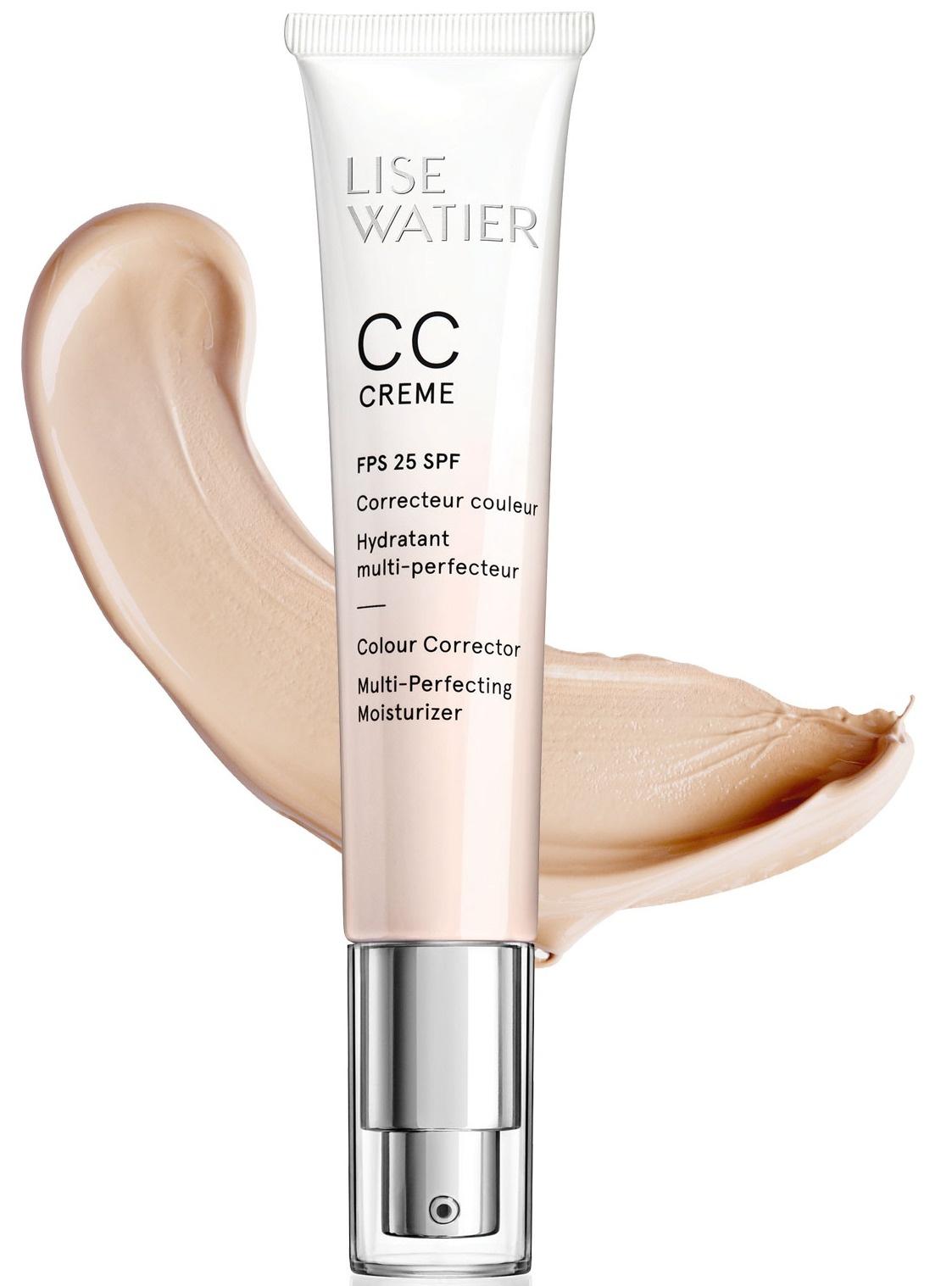 Lise Watier Cc Crème Colour Corrector Multi-Perfecting Moisturizer