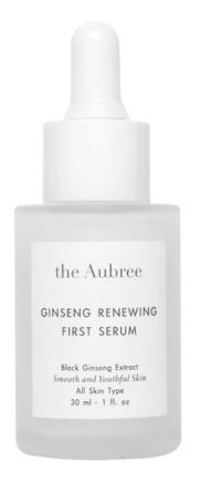 the Aubree Ginseng Renewing First Serum