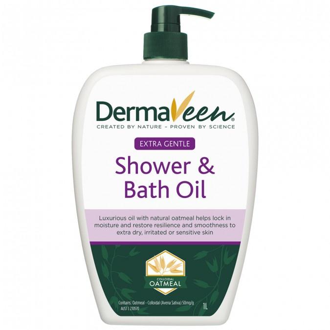 DermaVeen Shower And Bath Oil