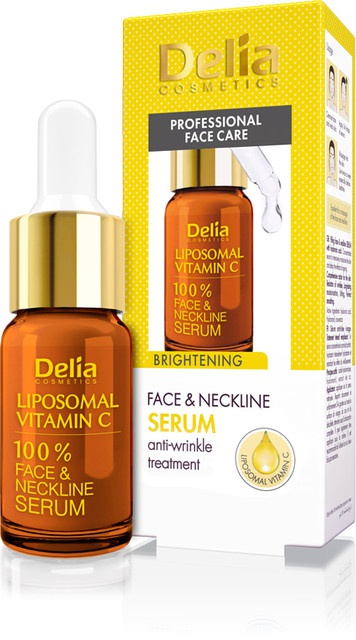 Delia Cosmetics Brightening Face&Neckline Serum Liposomal Vitamin C