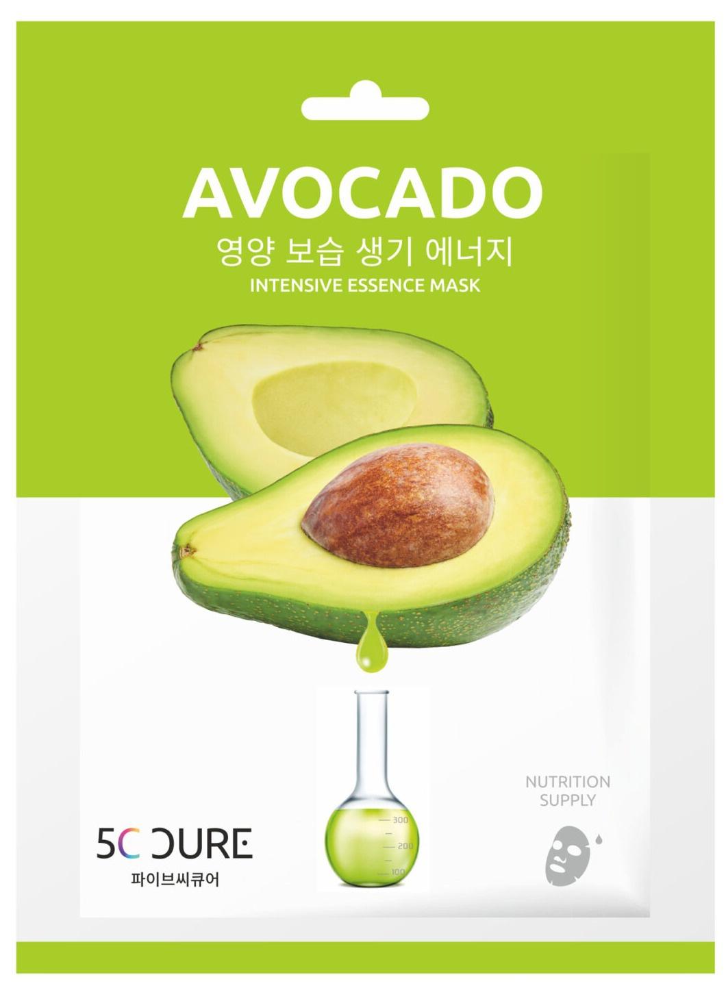 5c cure Avocado Intensive Essence Mask
