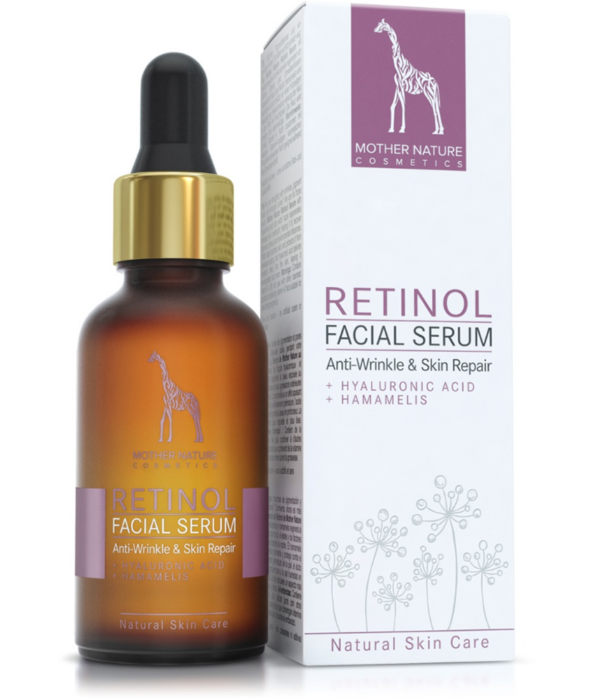 Mother Nature Cosmetics Retinol Facial Serum