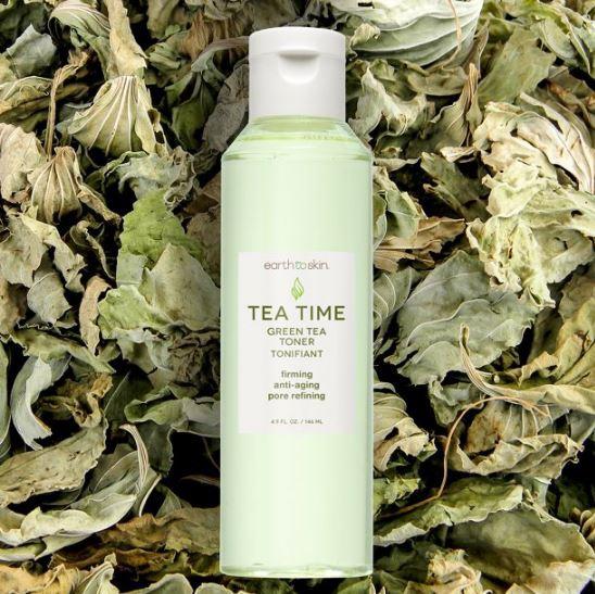Earth To Skin Tea Time Anti Aging Face Toner
