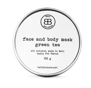Bali Balance Face And Body Mask Green Tea
