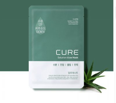 Cure Solution Aloe Mask