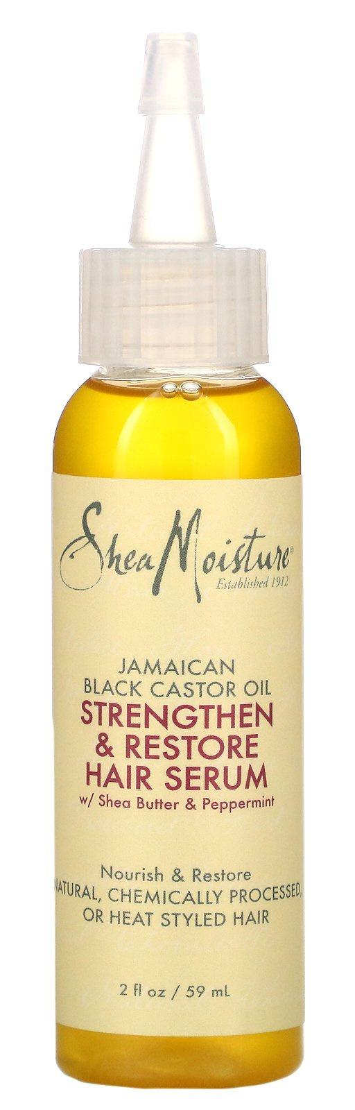 Shea Moisture Jamaican Black Castor Oil Strengthen & Restore Oil Serum