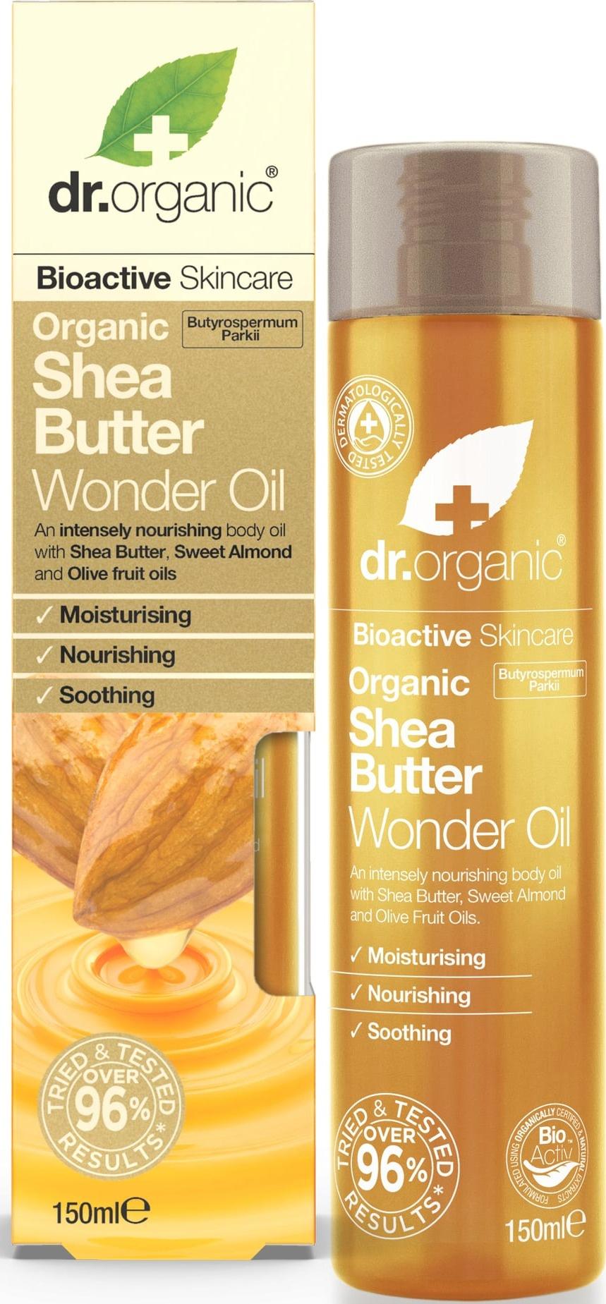 Dr Organic Shea Butter Wonder Oil