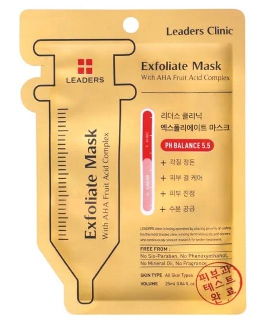 Leaders Exfoliate Mask With Aha Fruit Acid Complex