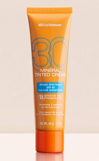 MDSolarSciences Mineral Tinted Creme Spf 30 Broad Spectrum Uva-Uvb Sunscreen