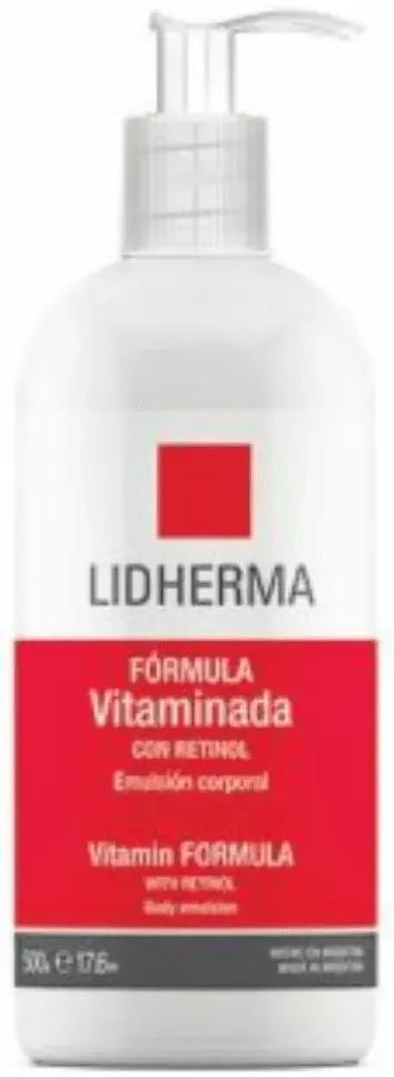 Lidherma Crema Corporal Fórmula Vitaminada