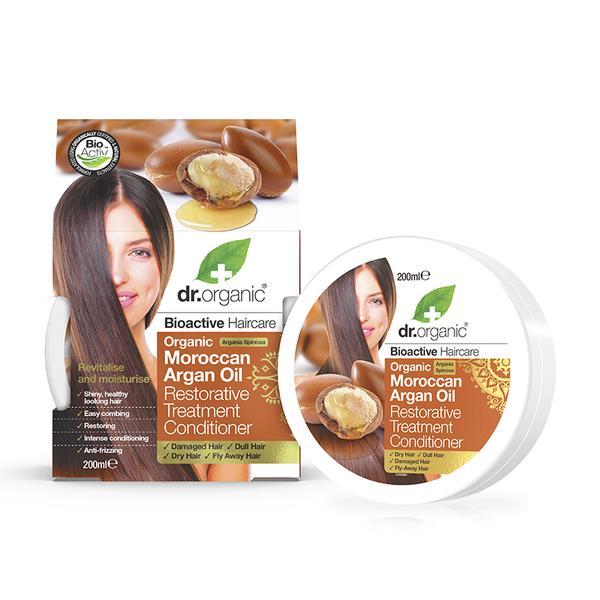 Dr Organic Moroccan Argan Oil Hair Treatment Conditioner