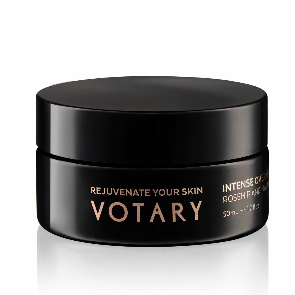 Votary Intense Overnight Mask - Rosehip And Hyaluronic