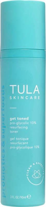 Tula Get Toned Pro-Glycolic 10% Resurfacing Toner
