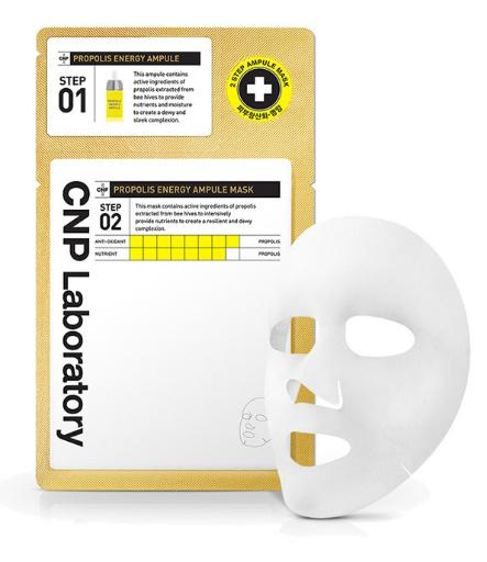 CNP Laboratory 2-Step Propolis Energy Ampule Mask