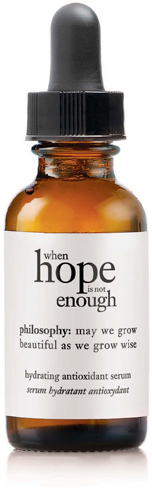 Philosophy When Hope Is Not Enough Serum